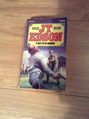 J. T. Edson (96) A Matter Of Honour Paperback Book