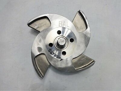 "4-Vane 10.5"" Pump Impeller, CD4M Material"