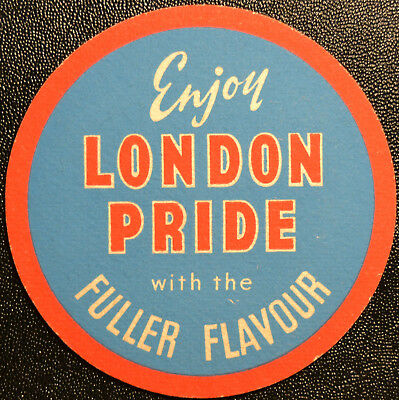 Bierdeckel Enjoy LONDON PRIDE