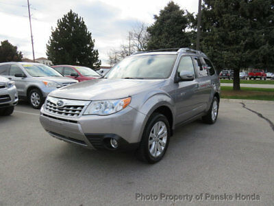2011 Subaru Forester 4dr Automatic 2.5X Touring 4dr Automatic 2.5X Touring SUV Automatic Gasoline 4 Cyl SILVER