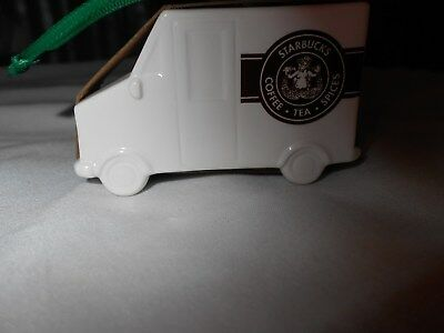 STARBUCKS CHRISTMAS ORNAMENT STARBUCKS TRUCK New