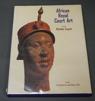 Book: African Royal Court Art, Coquet, hardback big book