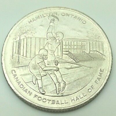 1972 Hamilton Ontario Canadian Football Hall Of Fame The Grey Cup Coin C690 X