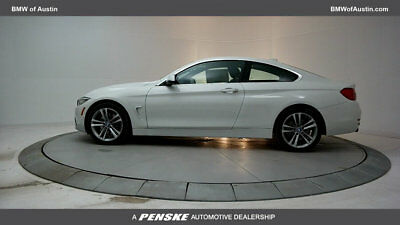 2017 BMW 4-Series 440i 440i 4 Series 2 dr Coupe Automatic Gasoline 3.0L STRAIGHT 6 Cyl Alpine White