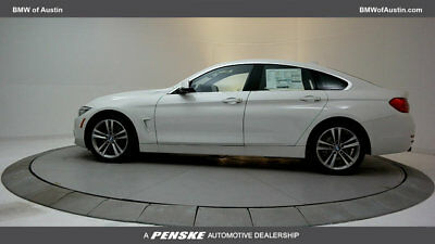 2017 BMW 4-Series 440i Gran 440i Gran 4 Series 4 dr Coupe Automatic Gasoline 3.0L STRAIGHT 6 Cyl Alpine Whit