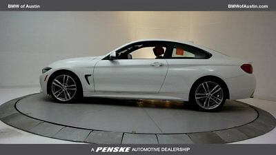 2018 BMW 4-Series 430i 430i 4 Series 2 dr Coupe Automatic Gasoline 2.0L 4 Cyl Alpine White