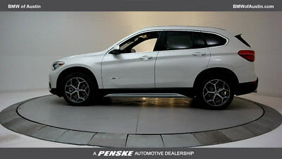2017 BMW X1 sDrive28i sDrive28i 4 dr Automatic Gasoline 2.0L 4 Cyl Mineral White Metallic