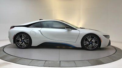 2015 BMW i8 Base Coupe 2-Door Low Miles 2 dr Coupe Automatic Gasoline 1.5L 3 Cyl  Crystal White Pearl Metallic