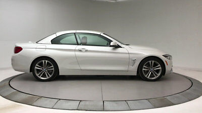 2018 BMW 4-Series 430i 430i 4 Series New 2 dr Convertible Automatic Gasoline 2.0L 4 Cyl Mineral White M