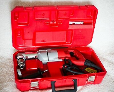 """MILWAUKEE 1107-1 Electric Right Angle Corded Drill DRIVER 1/2"""" * 500 RPM * 120V"""