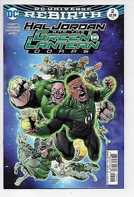 Hal Jordan and the Green Lantern Corps #2 - Main Cover (2016) - New (VF/NM+)