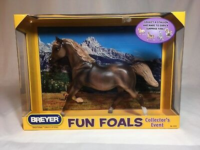 Breyer model horse #1372 Liver Chestnut Mare, traditional scale, new in box