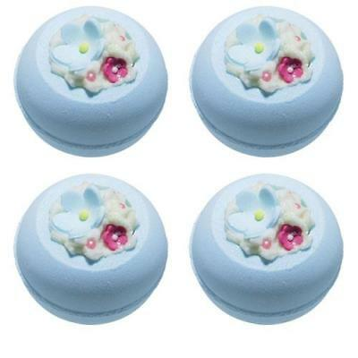 Bomb Cosmetics Cotton Flower Bath Blaster x 4