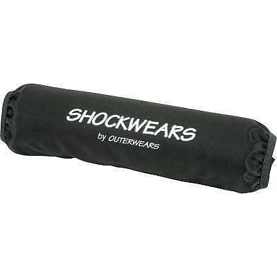 Outerwears - 50-1159-01 - Shockwears Shock Cover, Black ATV Ballistic Covers