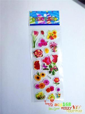 Alive Flowers Cartoon Stickers Doll Crafts Xmas 1pc Kid Party Toy Birthday Gifts