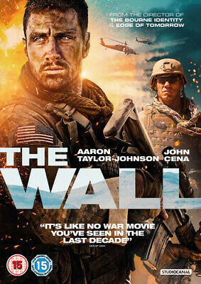 The Wall DVD (2017) Aaron Taylor-Johnson, Liman (DIR) cert 15 Quality guaranteed