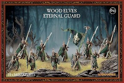 Warhammer - NEW - Wood Elves Eternal Guard - FREE SHIPPING!