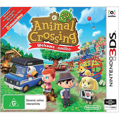 Animal Crossing: New Leaf - Welcome amiibo - Nintendo 3DS - BRAND NEW