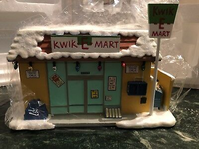 Simpsons Christmas Village Hawthorne Kwik-e-mart New
