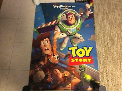 Toy Story (1995) original movie poster version B (children) double-sided rolled