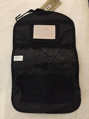 Mil-tec Black Travel Wash Bag New