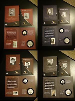 2015 Truman Eisenhower Kennedy Johnson and 2009 Lincoln Coin & Chronicles Sets