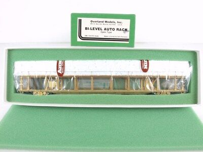 Overland/OMI 1354 HO Brass Bi-Level Open Auto-Rack Autorack Carrier