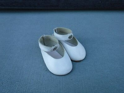 Vintage Sasha Doll White Leather Mary Janes