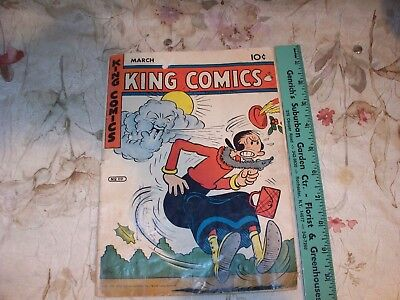 King Comics No. 119- Used- 1946- Great Colored Comic Strip Stories- Low Price