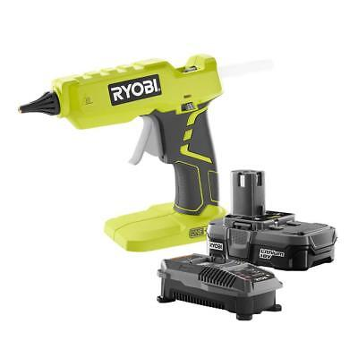 18 Volt ONE Lithium Ion Full Size Glue Gun Kit with 1.3Ah Battery and Charger