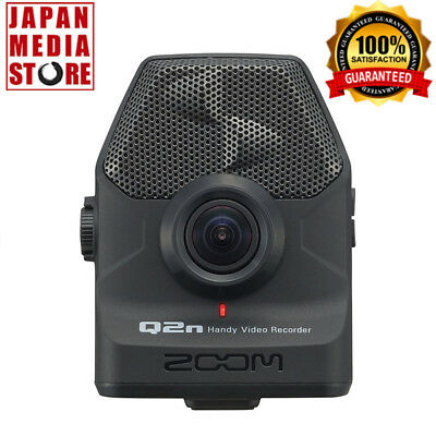 ZOOM Q2n Handy HD Video Audio Recorder Built-In XY Mic 100% Genuine Product
