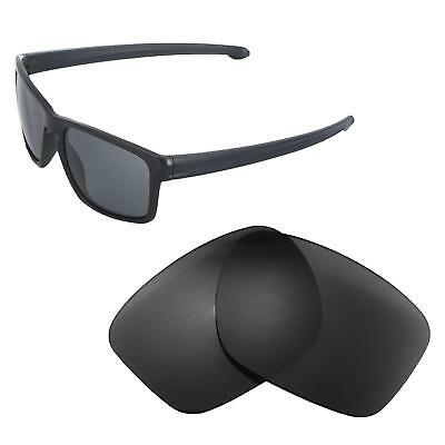 3b40e2088a New Walleva Black Polarized Replacement Lenses For Oakley Sliver Sunglasses