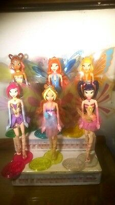 kinder maxi-NV-3- WINX serie completa  + cartine n°6