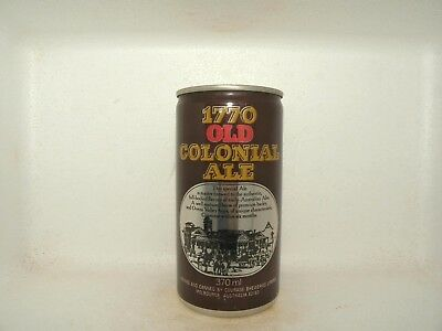1770 Old Colonial Ale Empty Beer Can