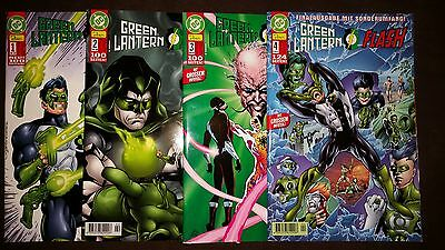 GREEN LANTERN/FLASH (deutsch) # 1 + 2 + 3 + 4 KOMPLETT - DINO VERLAG 2000 - TOP