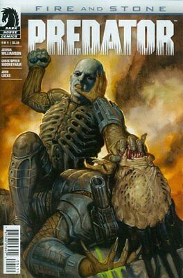 Predator: Fire & Stone (2014 Ltd) #   4 Near Mint (NM) Dark Horse MODERN AGE COM