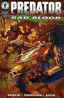 Predator: Bad Blood (1993 Ltd) #   3 Near Mint (NM) Dark Horse MODERN AGE COMICS