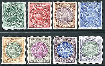ANTIGUA- 1908-17 A mounted mint set to 2/- Sg 41-50