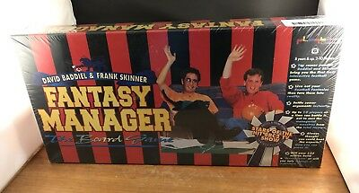 FANTASY Football MANAGER Board Game New Sealed TV Show 1994 Baddiel & Skinner