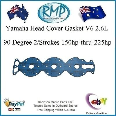 A Brand New Head Cover Gasket Yamaha 150hp-thru-225hp 2/Strokes # R 6G5-11193-00