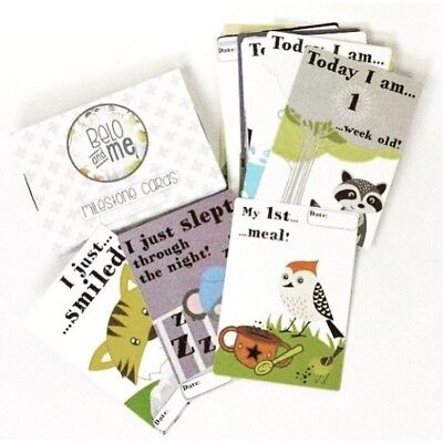 Belo and Me 'My First Year' Milestone Cards - New