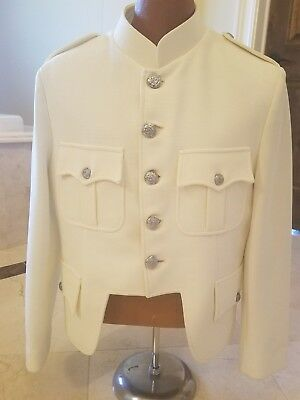Prince Charlie regulation  jacket size 38 creamy white