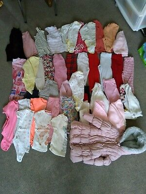 1-2 Years Girls Mixed Clothes Bundle Mixture of 12-18 & 18-24 Months Clothes