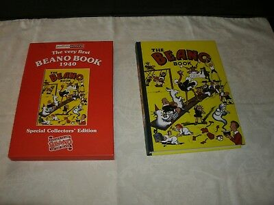 goldenage beano annual (1940) facsimile with a slipcase amazing grade (scarce )