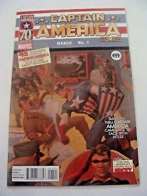 Captain America Comics 1 70th Anniversary Special Variant 1st Appearance Reprint