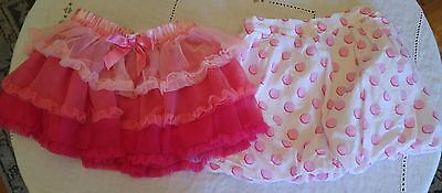 lot of 2 skirts 3t maggie & zoe circo pink