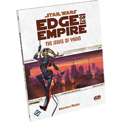 RPG - Star Wars Edge of the Empire RPG The Jewel of Yavin NEW!