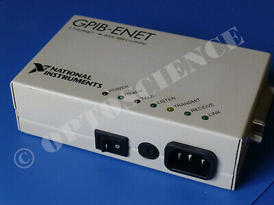 National Instruments NI GPIB-ENET Ethernet GPIB Controller