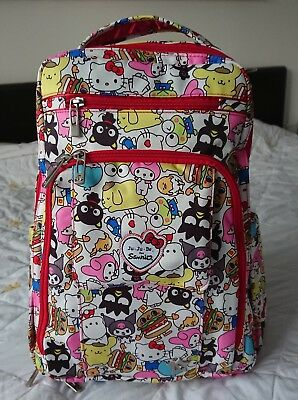 Ju Ju Be BRB Hello Sanrio BNWT Baby wearing changing backpack nappy diaper bag
