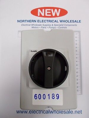 Lovato Gaz040Dt4B Enclosed Isolator Switch Photovoltaic 40A 4 Pole (600189)